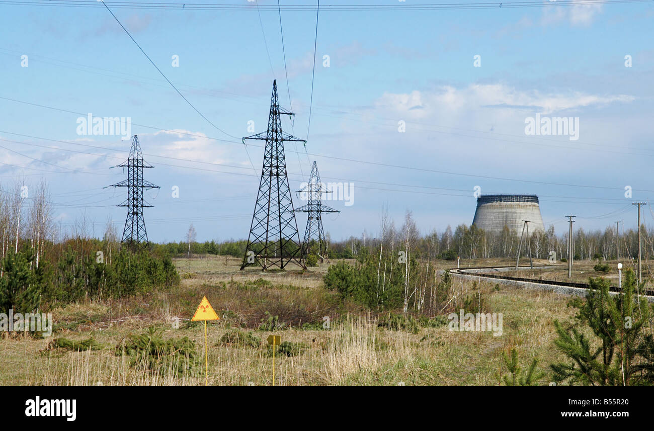 Prypiat (Chernobyl), Ukraine. Stock Photo