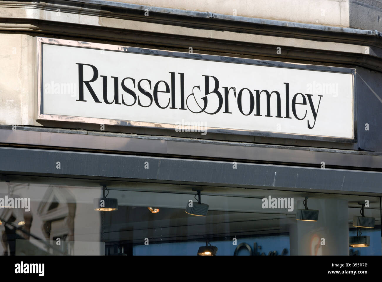 Russell & Bromley - Stock Image
