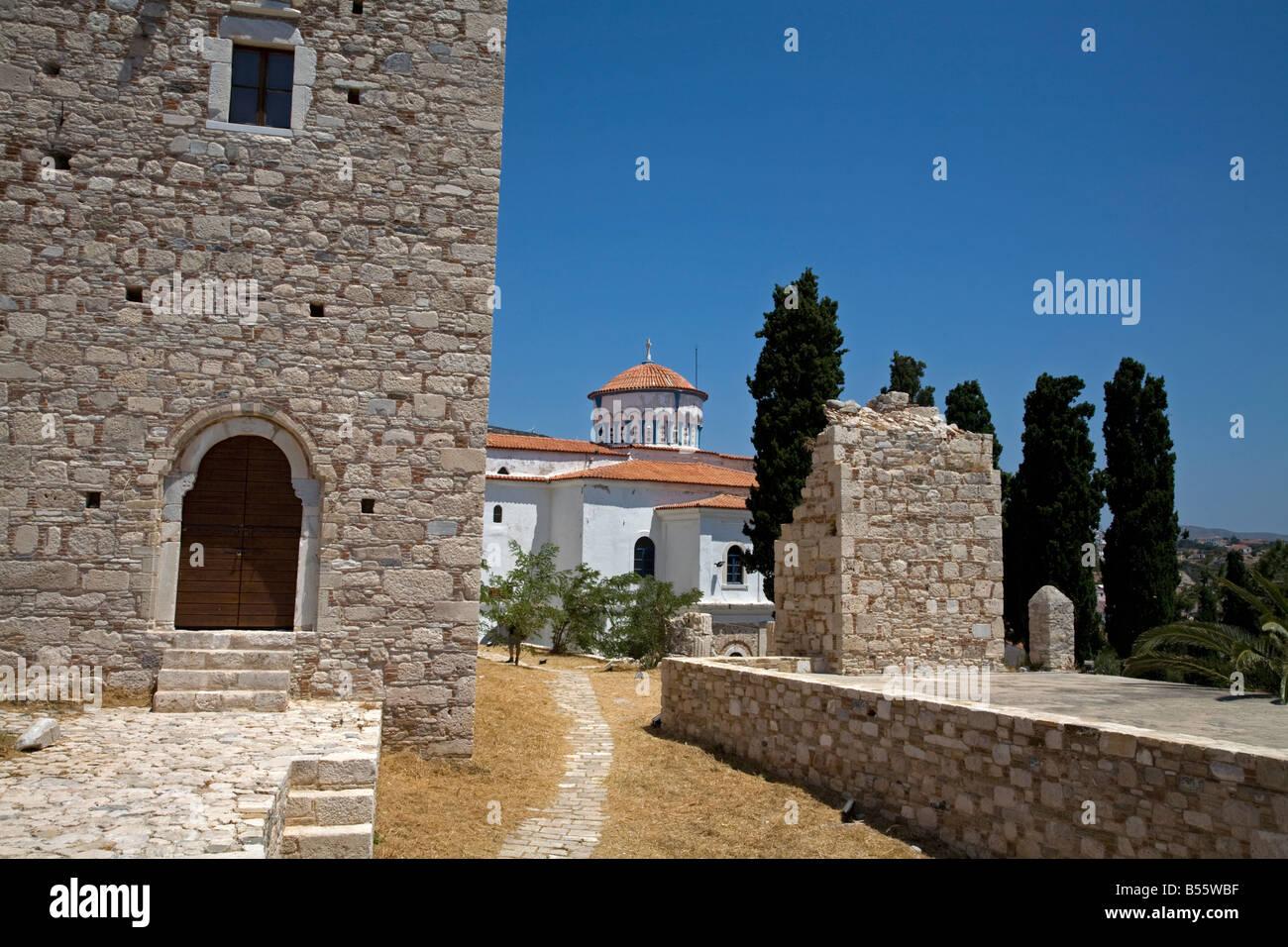 Castle of Lykourgos Logothetis Pythagorion Samos Greece Stock Photo