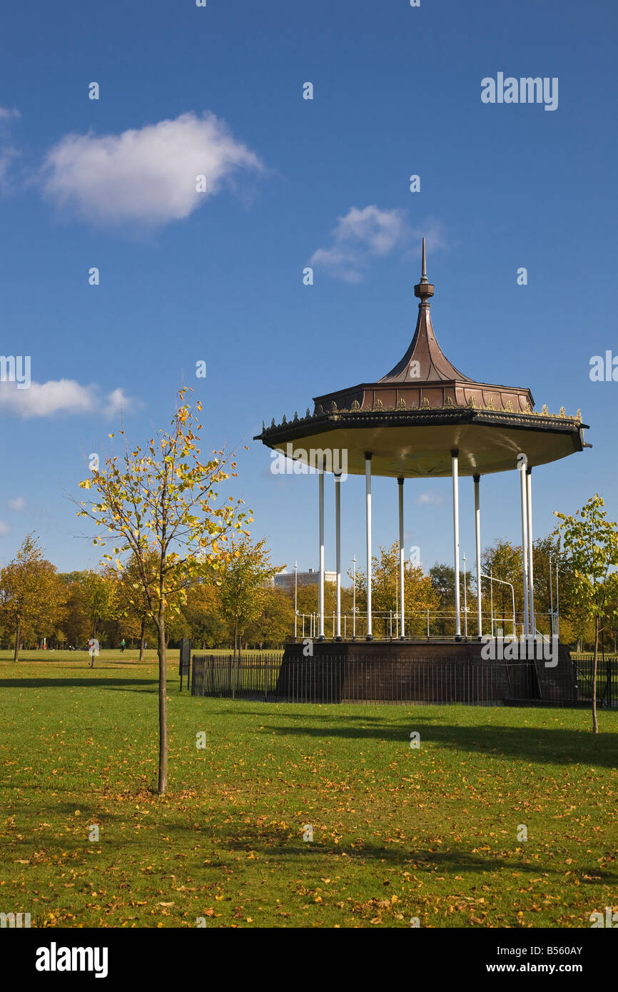 Bandstand Kensington Gardens London England UK Stock Photo