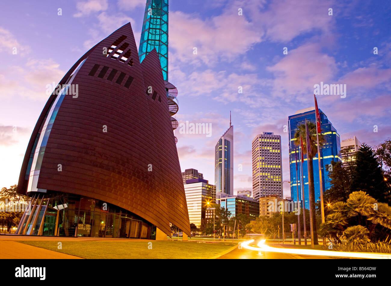 Australia, Western Australia, Perth. Cityscape - Stock Image