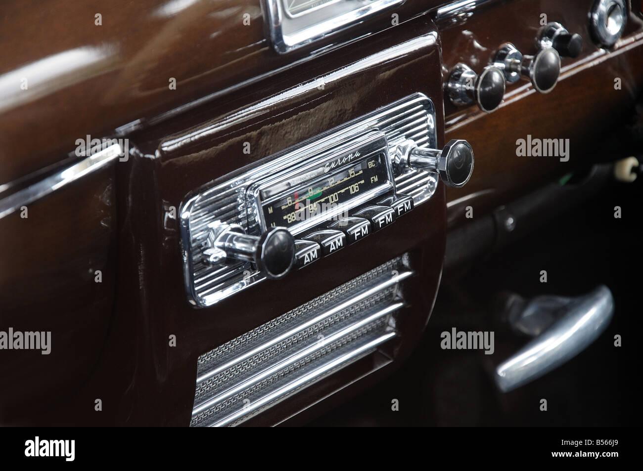 vintage car radio stock photos vintage car radio stock. Black Bedroom Furniture Sets. Home Design Ideas