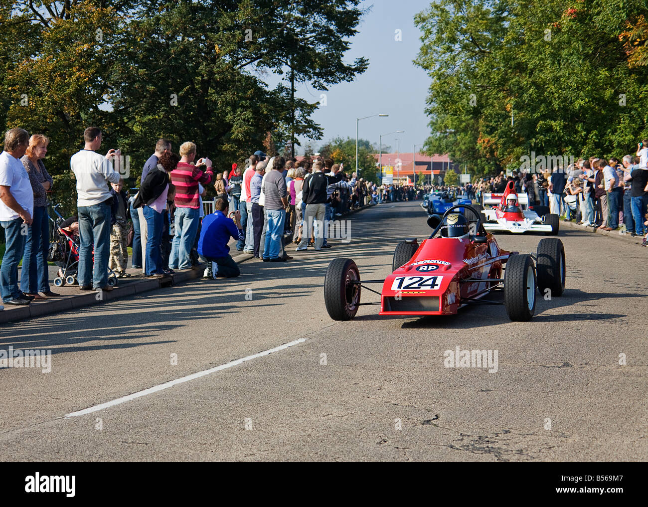 The Lola T640 Formula Ford 1600 during Lola\'s 50th Anniversary Stock ...