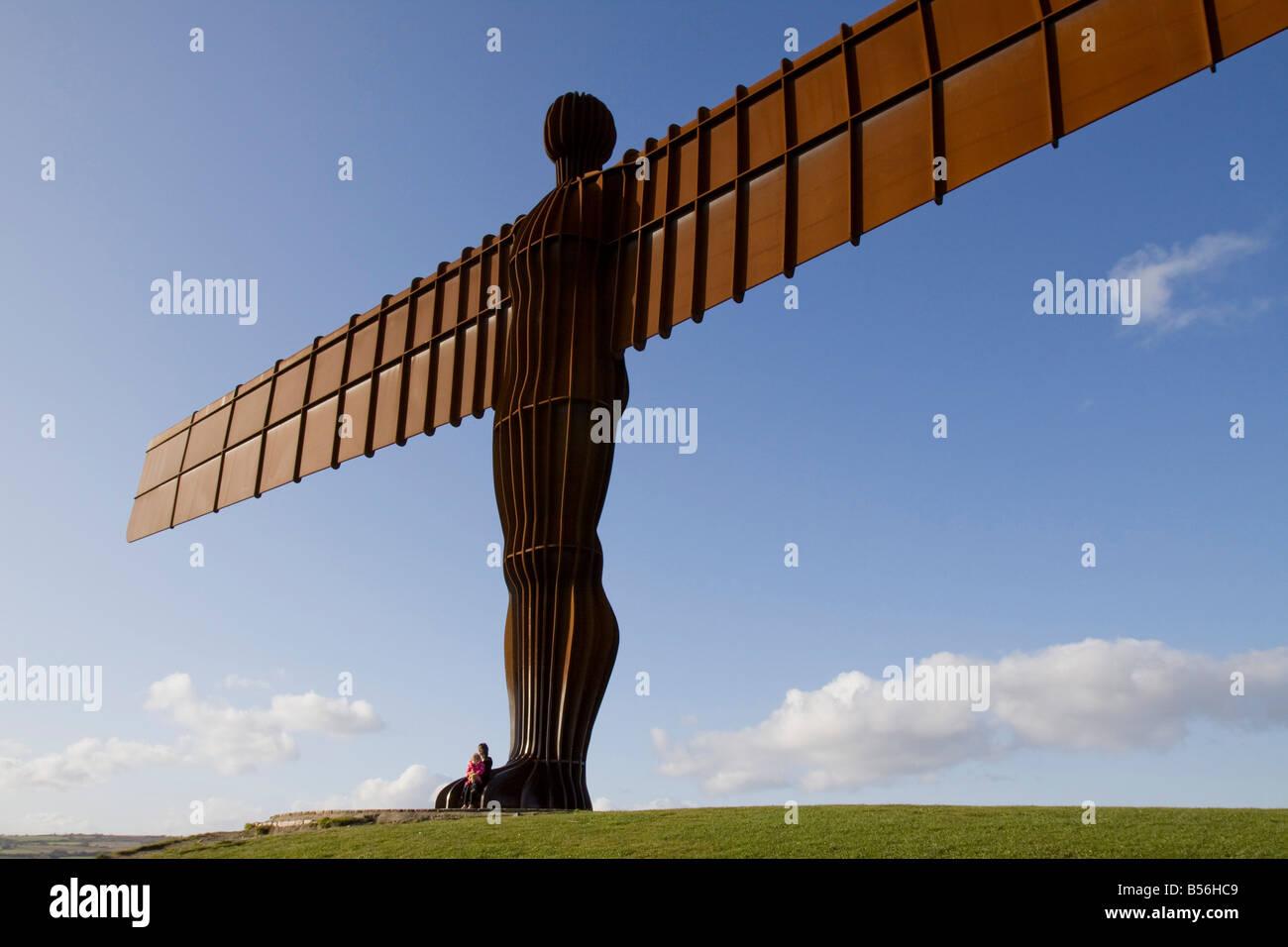 Angel of the North Gateshead, Newcastle, England. - Stock Image