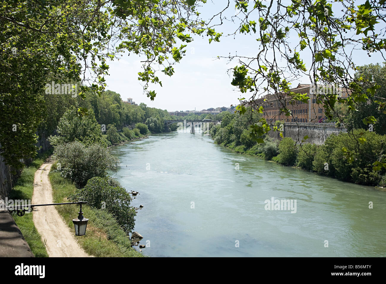 Tiber river - Stock Image
