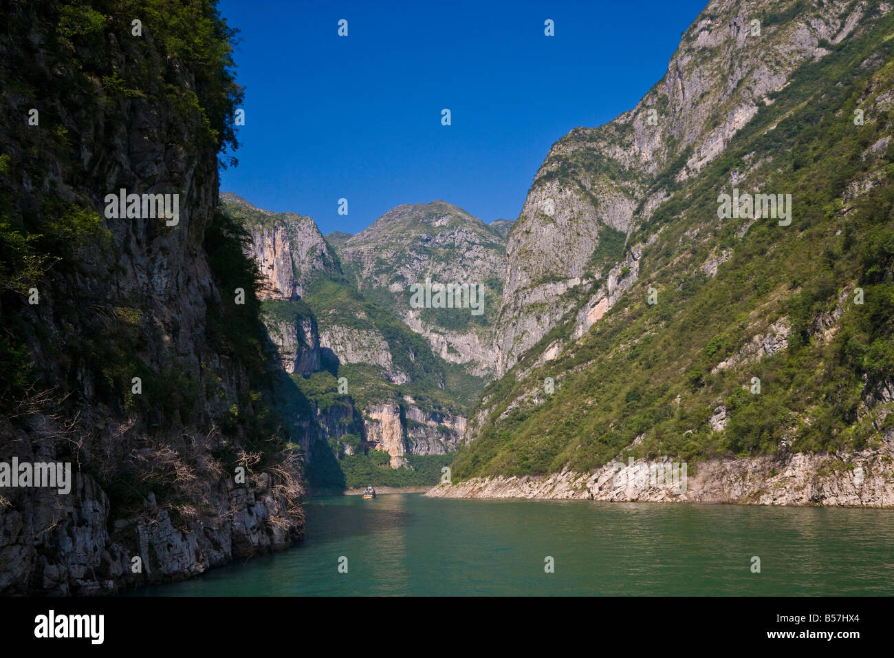 Daning River in Little Three Gorges Yangzi River China JMH3381 - Stock Image