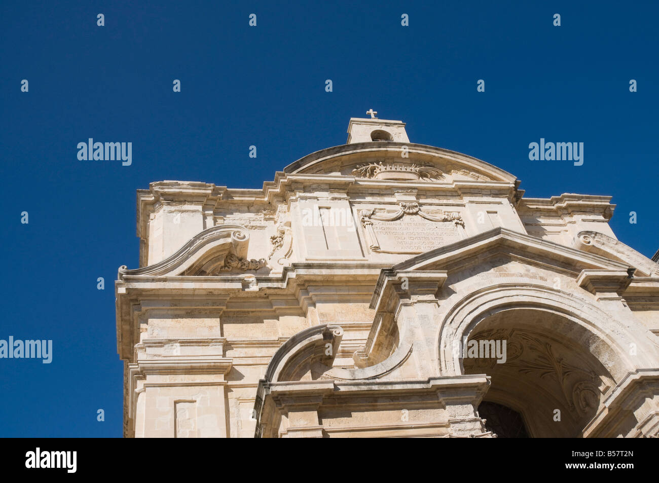 Main entrance gate to Mdina, Malta, Europe - Stock Image