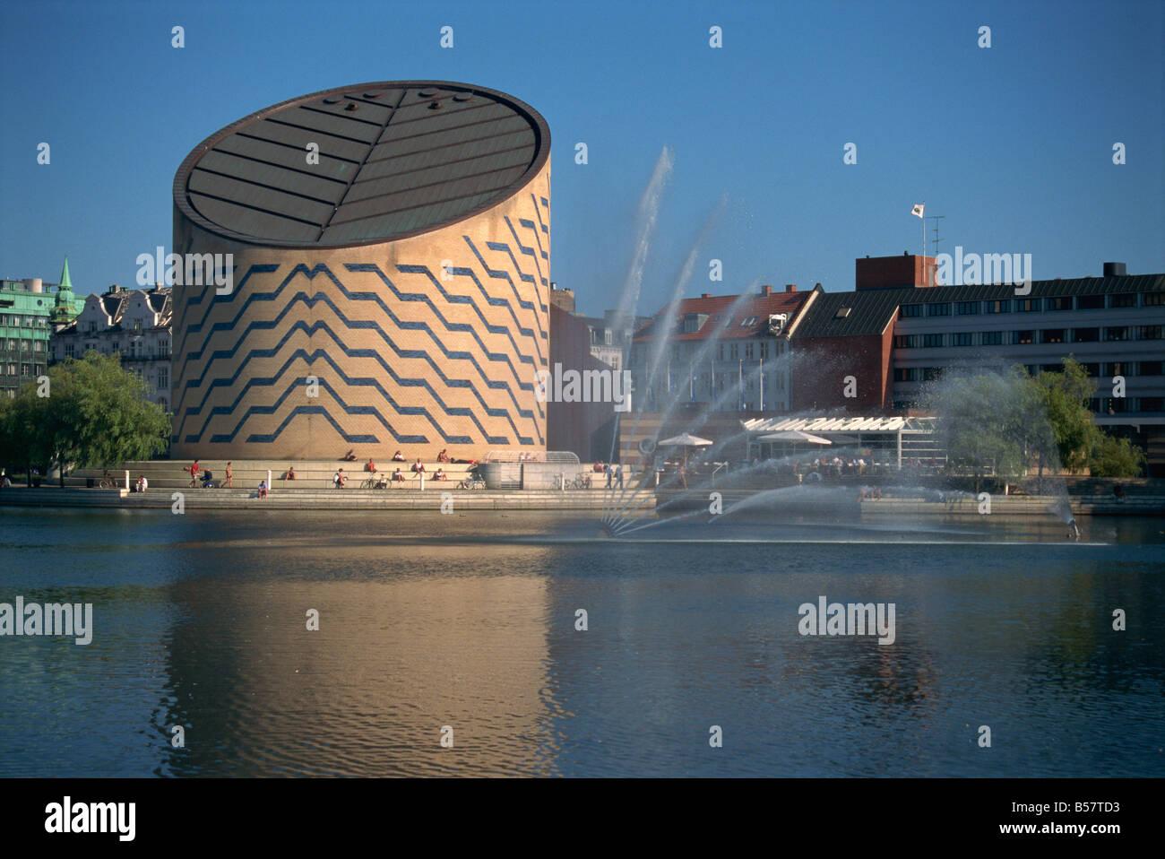The Tycho Brahe Planetarium, Copenhagen, Denmark, Scandinavia, Europe - Stock Image
