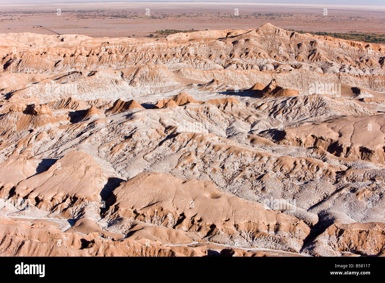 Valle de la Luna (Valley of the Moon), Atacama Desert, Norte Grande, Chile, South America - Stock Image