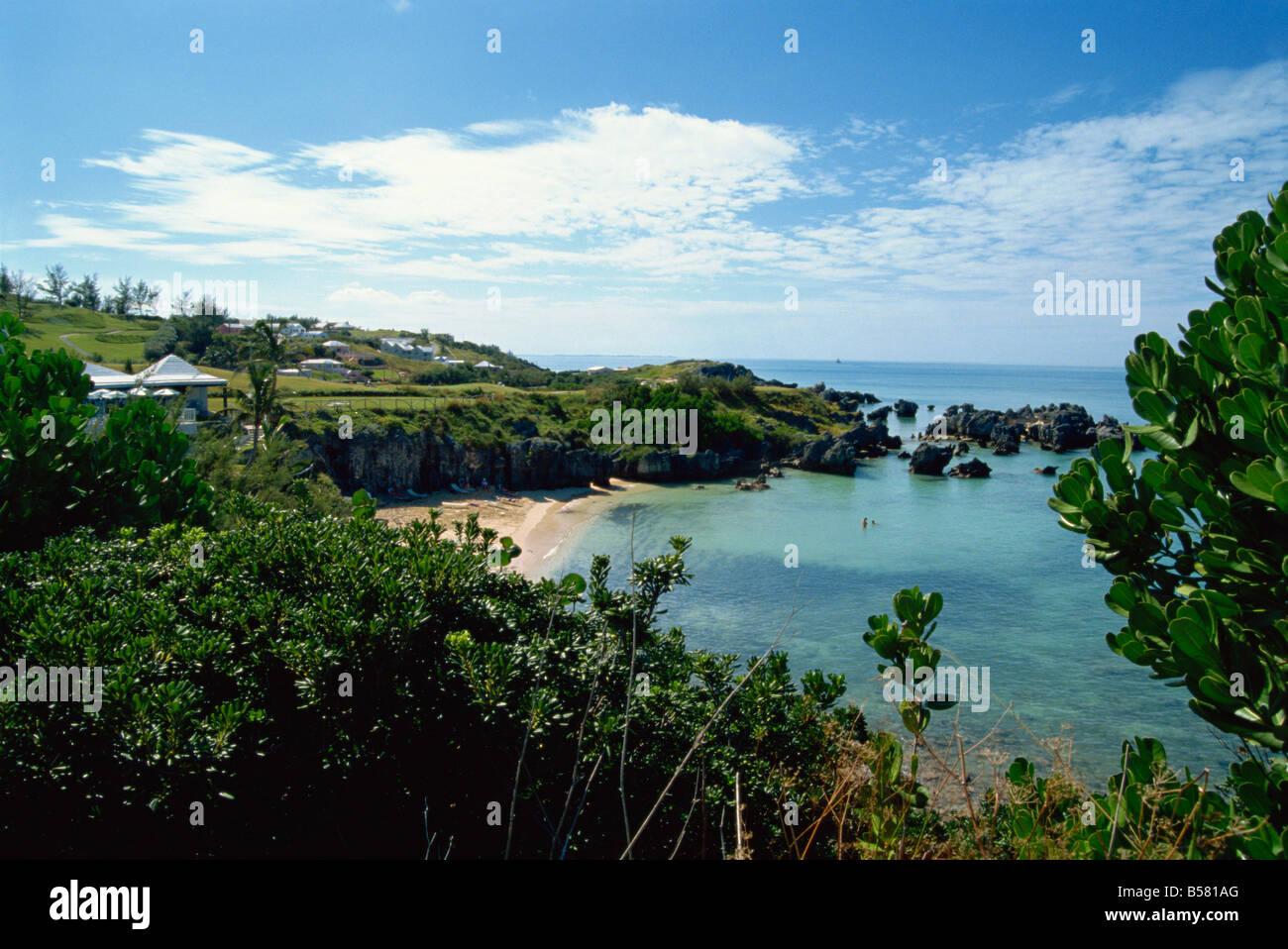 Fort St Catherine St George Bermuda Atlantic Ocean Central America - Stock Image