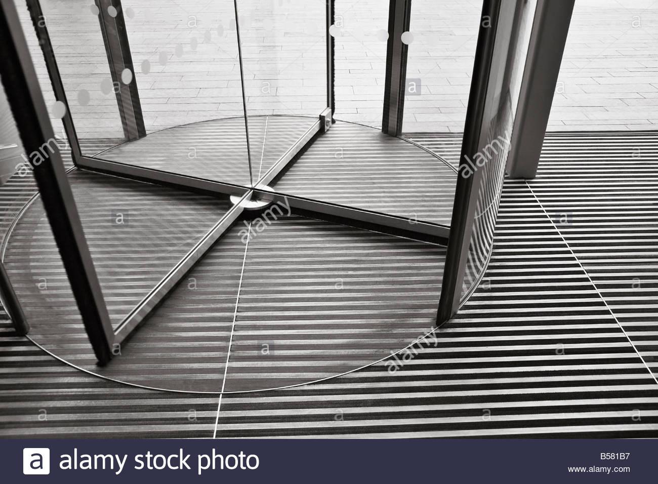Revolving Door   Stock Image