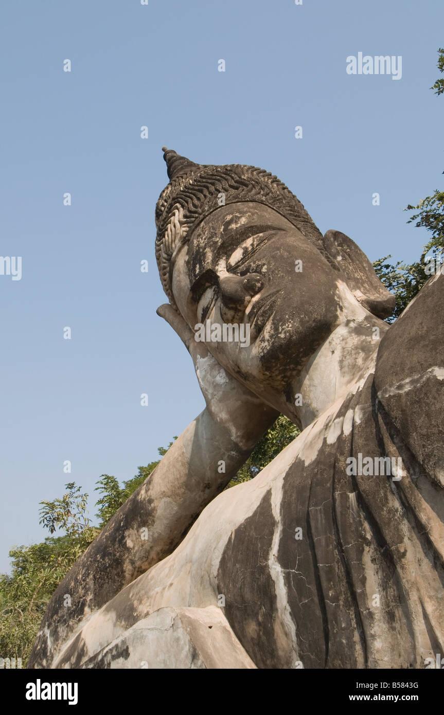 Buddha Park, Xieng Khuan, Vientiane, Laos, Indochina, Southeast Asia, Asia - Stock Image
