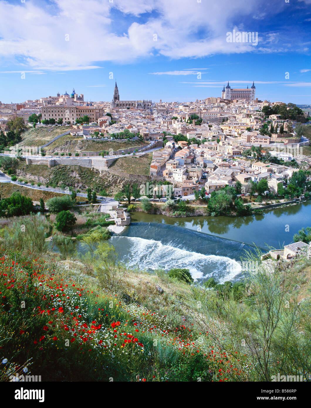Toledo, Castilla La Mancha (New Castile), Spain, Europe - Stock Image