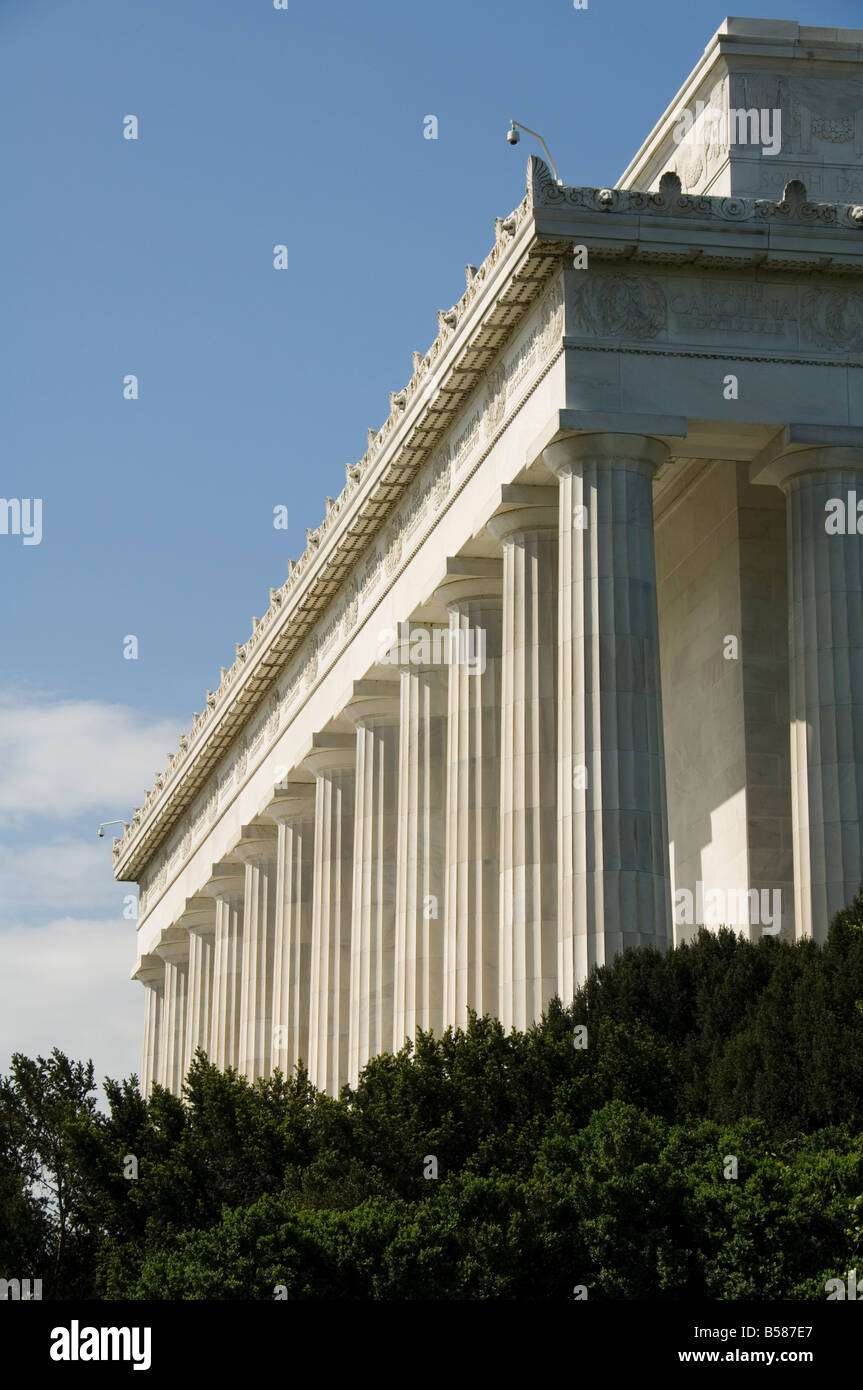 Lincoln Memorial, Washington D.C. (District of Columbia), United States of America, North America - Stock Image