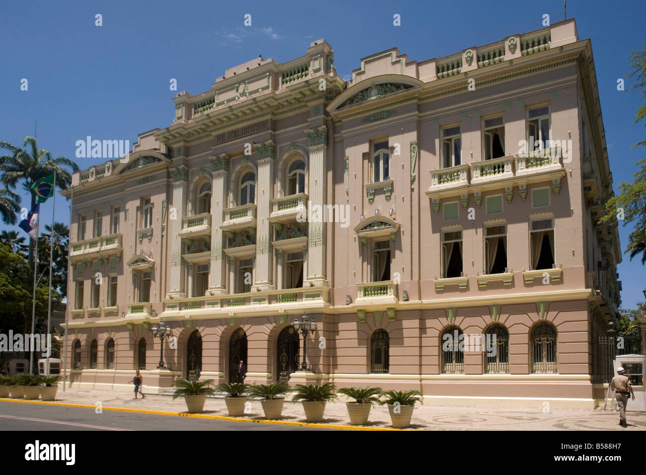 Governor s Palace Recife Pernambuco Brazil South America - Stock Image