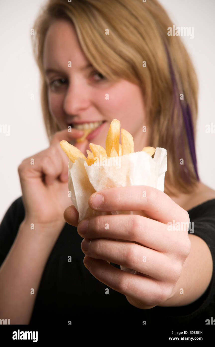 Young Adult Uk Fast Food