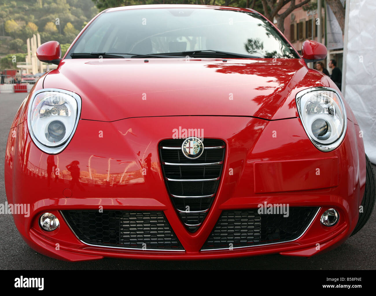 Alfa Romeo Mito Stock Photo Alamy