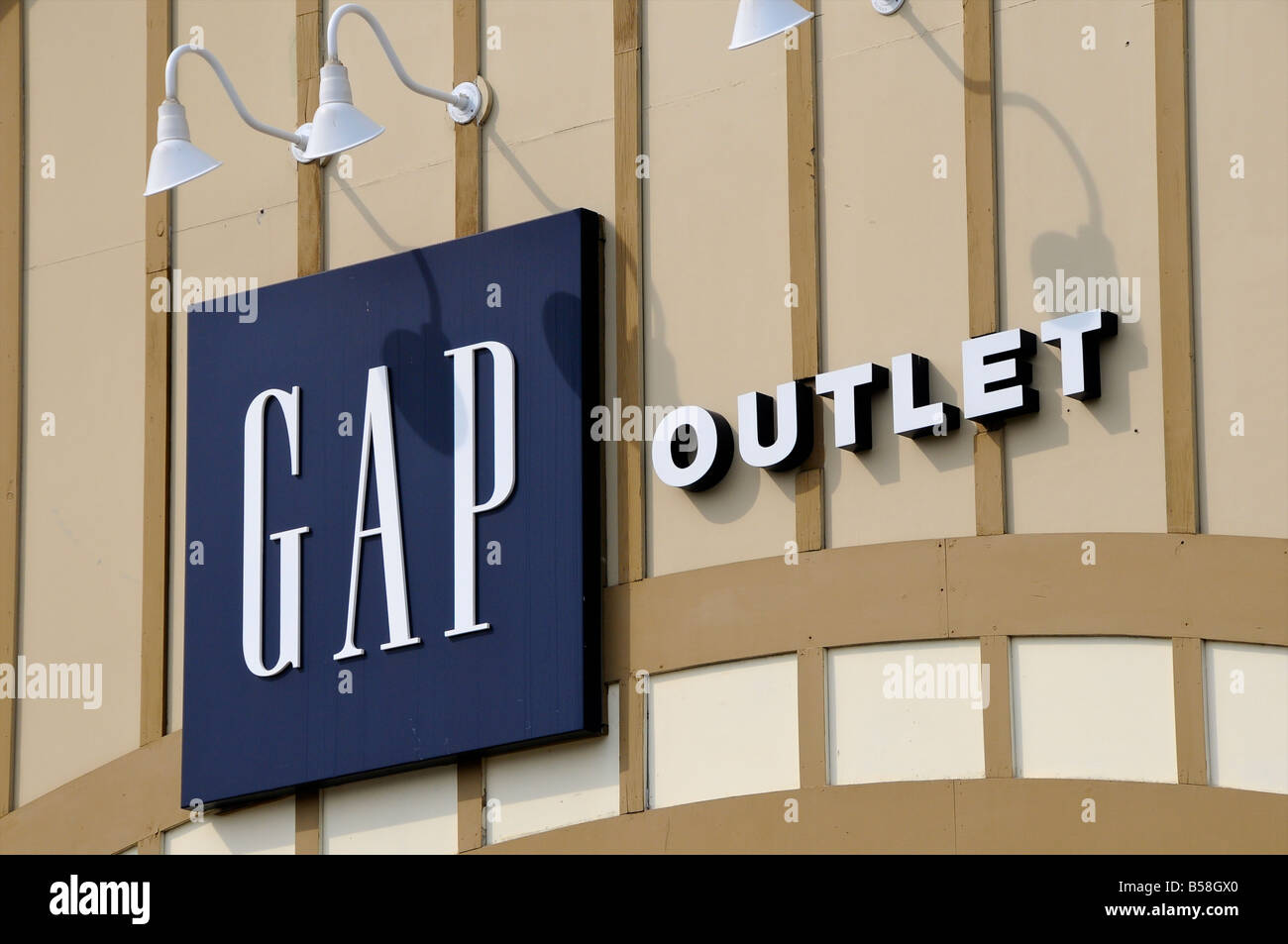 Gap factory outlet store, North Conway, New Hampshire, USA