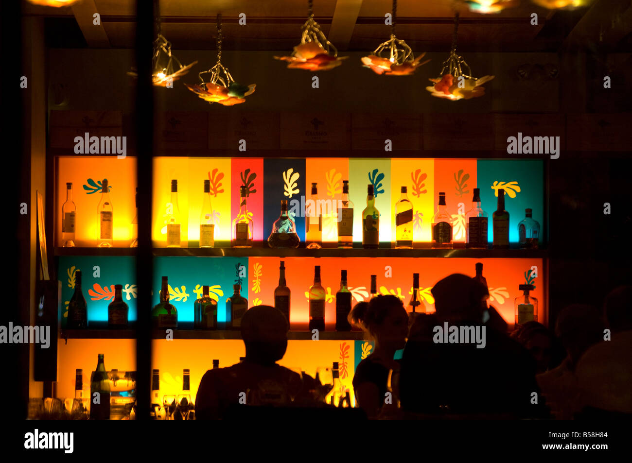 Nizza bar, Montreal, Quebec, Canada, North America - Stock Image