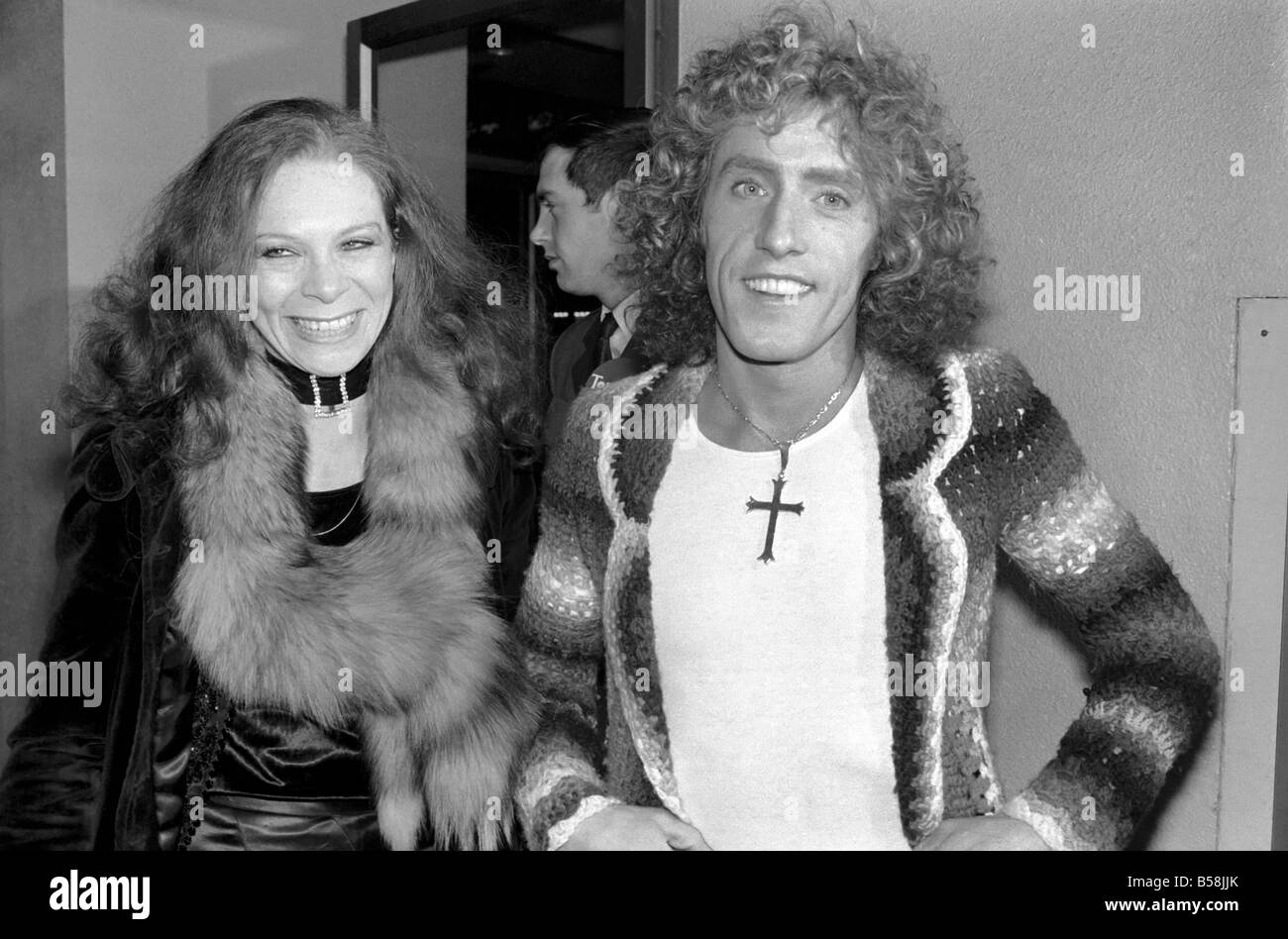 d25b9249b Film premiere of Tommy. Leicester Sq. Theatre. Roger Daltrey who attended  the premiere of the Ken Russell film  Tommy  at the Le