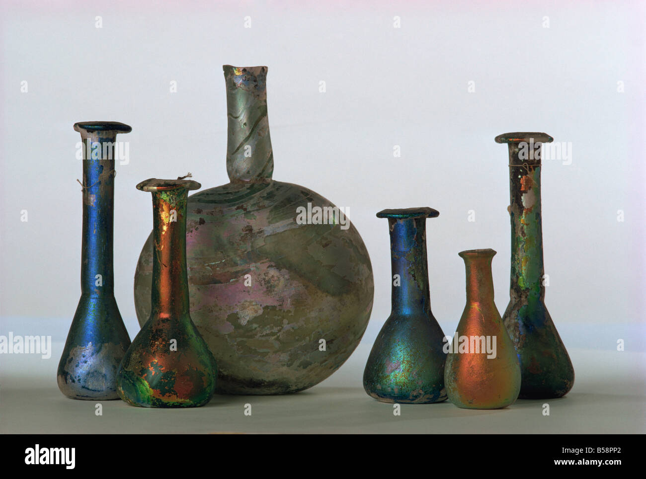 Mesopotamian antiquities, Louvre Museum, Paris, France, Europe - Stock Image