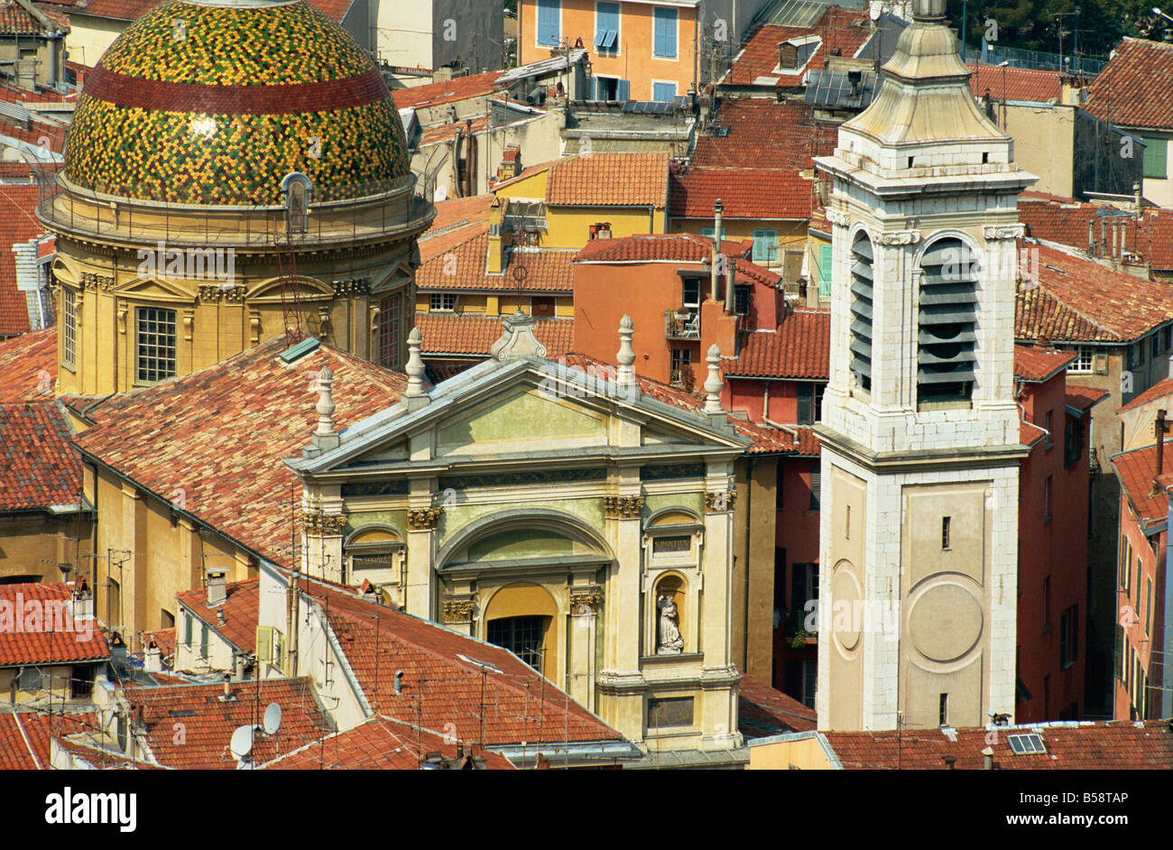 Old Town, Nice, Alpes Maritimes, Provence, France, Europe - Stock Image