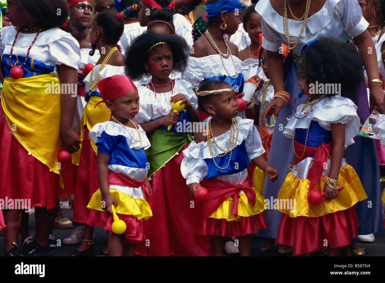 Caribbean People: Martinique Caribbean People Stock Photos & Martinique