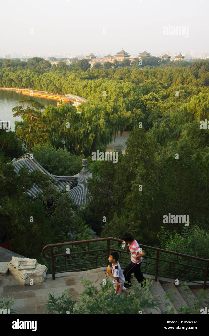 Beihai Park, Beijing, China Stock Photo