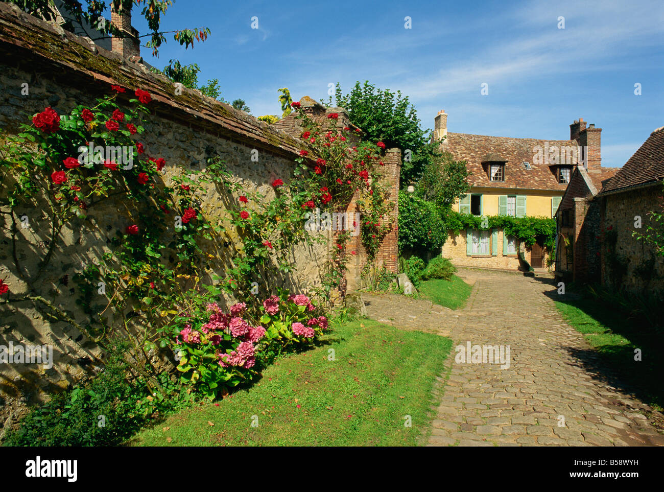 Geberoy, Picardy, France, Europe Stock Photo