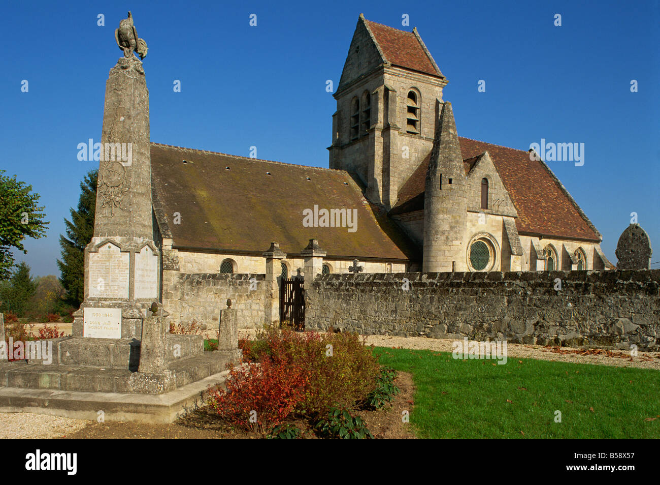 Villers Helon, Picardy, France, Europe Stock Photo