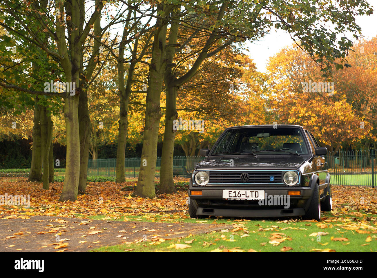 VW Golf MKII G60 16v Limited - Stock Image