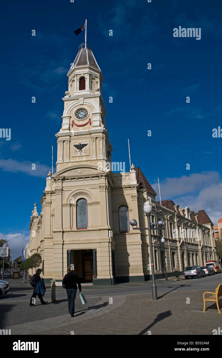Fremantle Town Hall in Western Australia - Stock Image