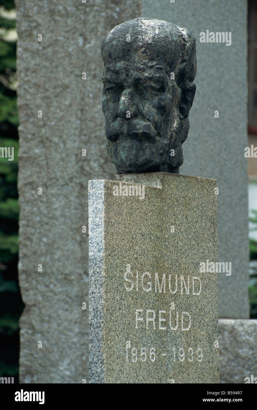 Birthplace of Sigmund Freud, Freiberg, Moravia, Czech Republic, Europe - Stock Image