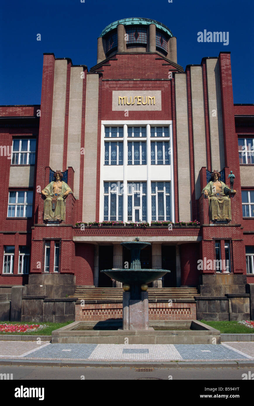 Museum by Jan Kotera, Hradec Kralove, East Bohemia, Czech Republic, Europe Stock Photo
