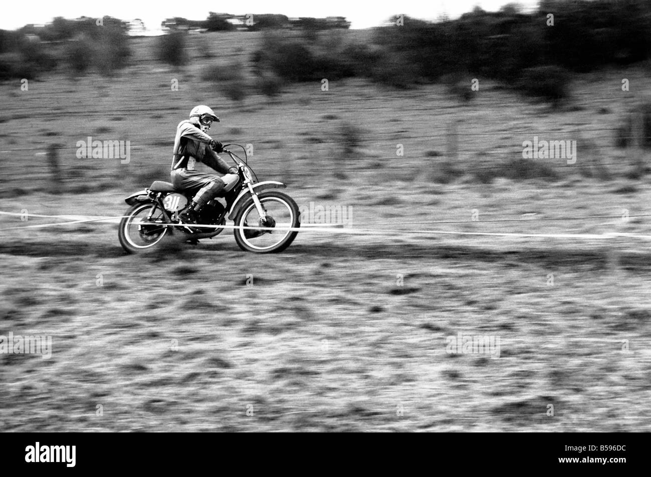 Motorsport/Children/Motorbike: Schoolboys Scramble. March 1975 75-01212-011 - Stock Image