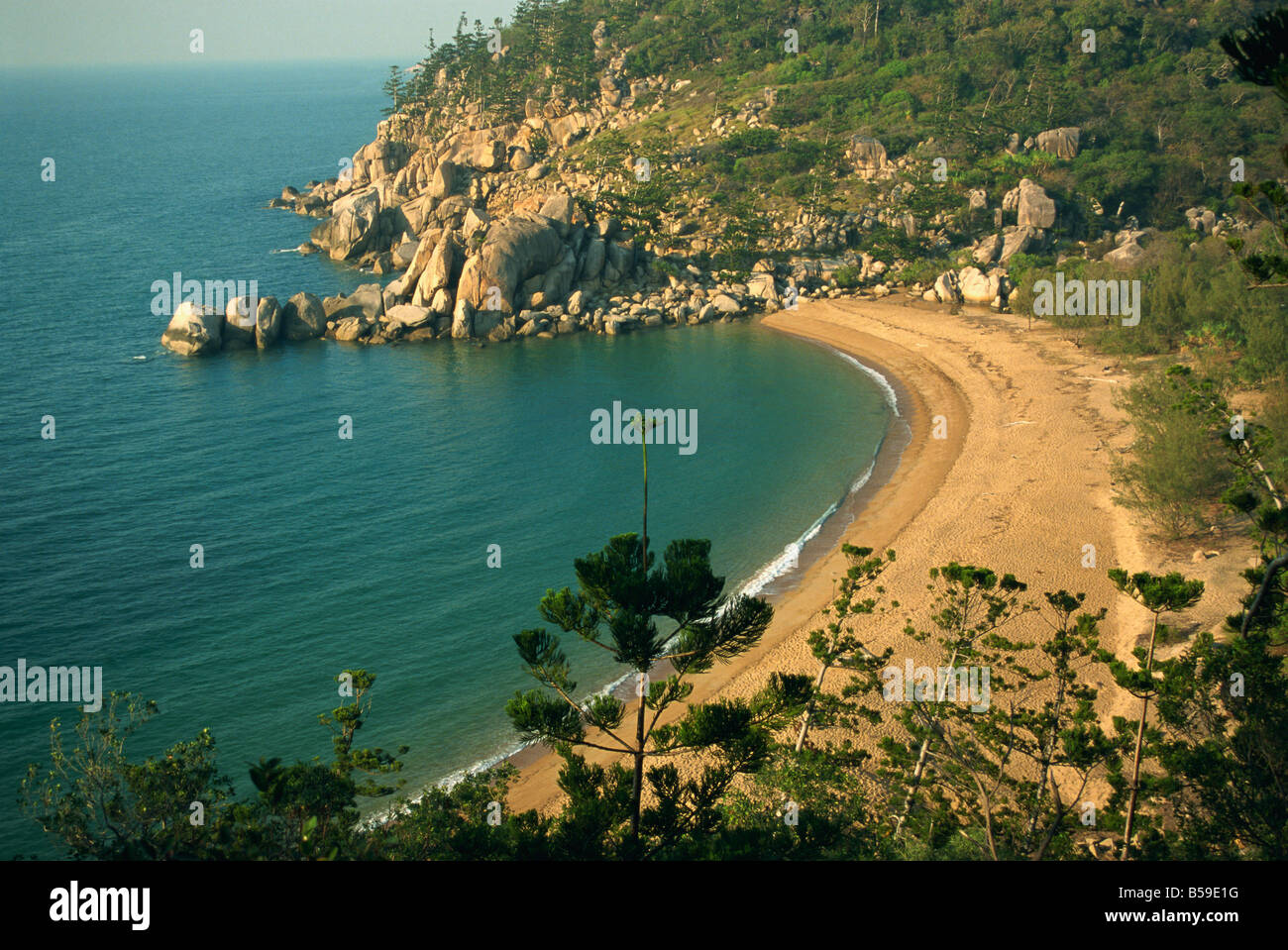 Arthur Bay Magnetic Island Queensland Australia Pacific - Stock Image