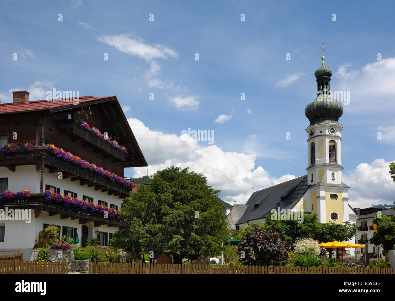 Reit im Winkl, Bavaria, Germany - Stock Image