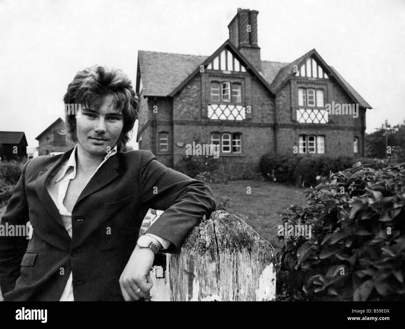 Robert George Grosvenor, 5th Duke of Westminster September 1976 P005493 - Stock Image