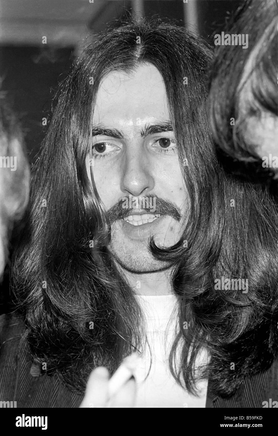 Beatles singer George Harrison. December 1969 Z11673-006 - Stock Image