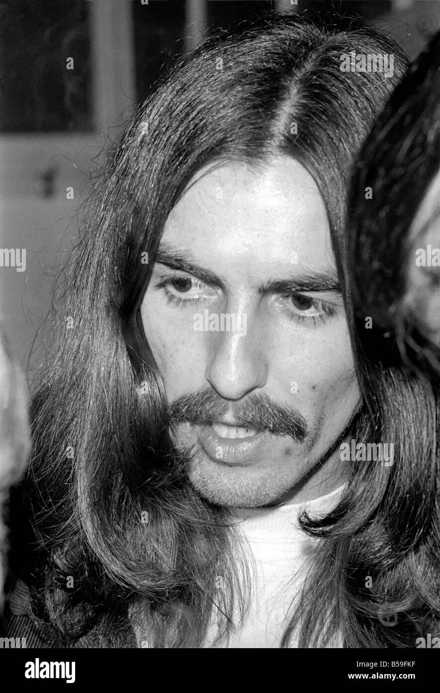 Beatles singer George Harrison. December 1969 Z11673-007 - Stock Image
