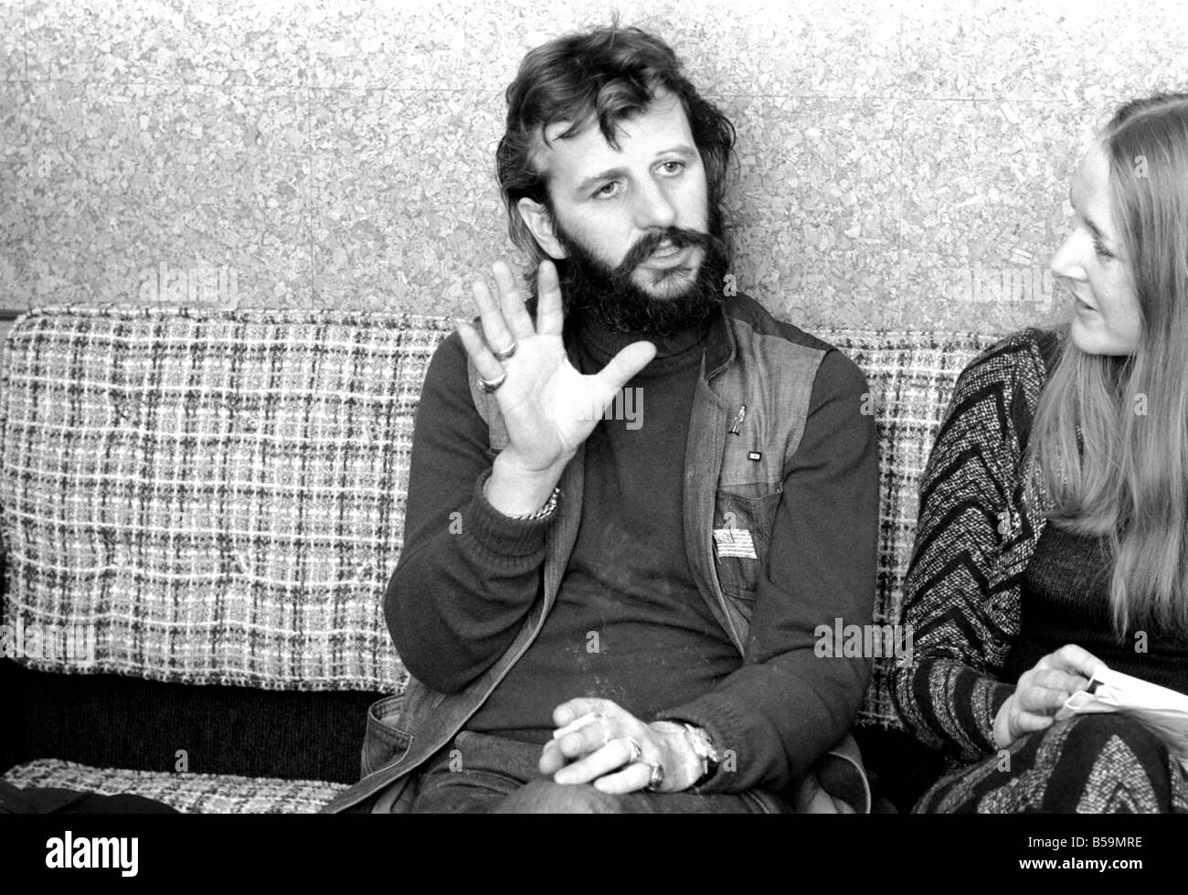 Ex Beatle Ringo Starr April 1975 75 1771 001