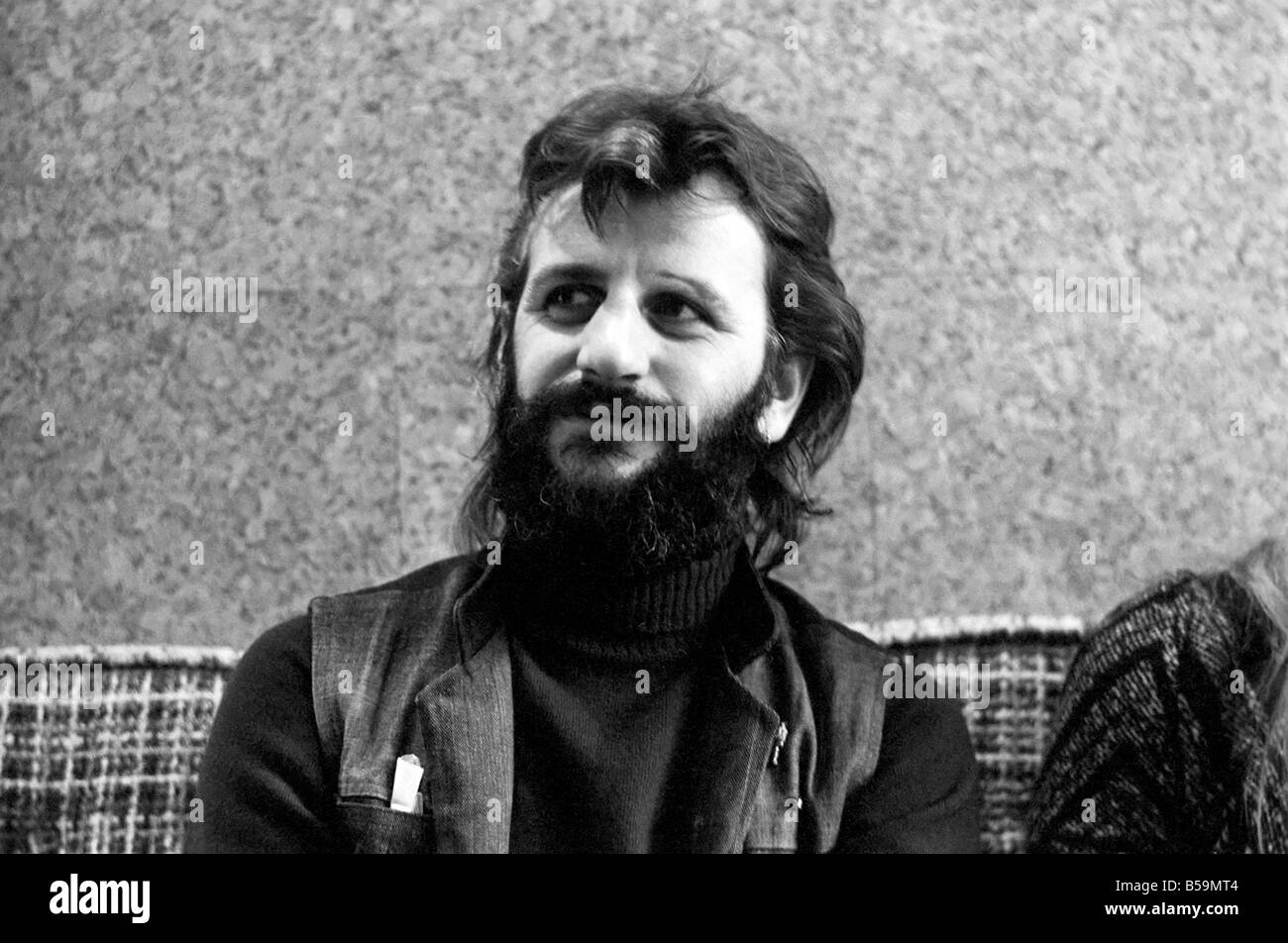Ex Beatle Ringo Starr April 1975 75 1771 007