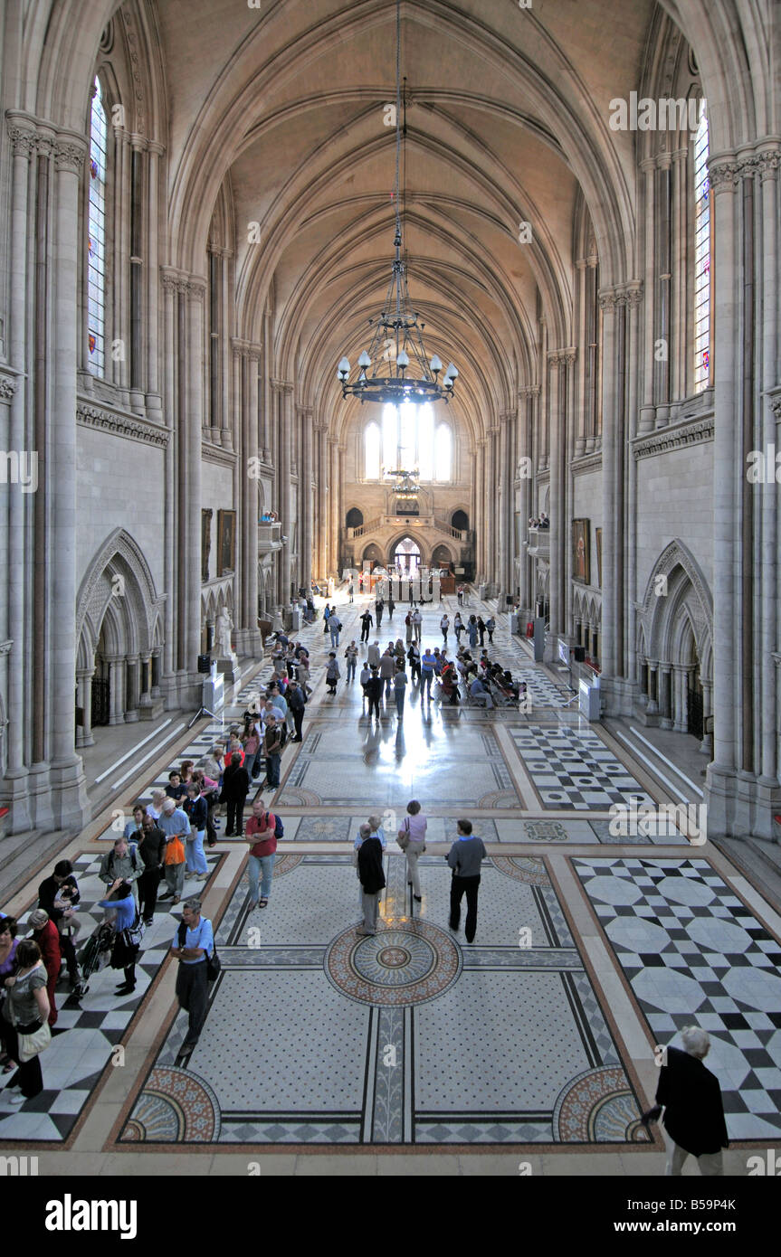 Royal Courts of Justice, London, United Kingdom - Stock Image
