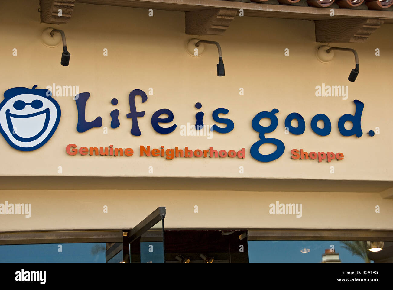 Motto Is Life Is Good Stock Photos & Motto Is Life Is Good