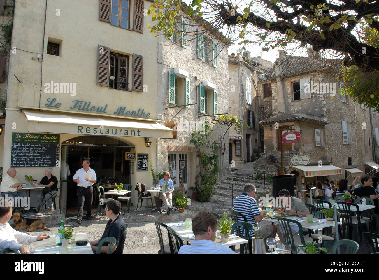 St Paul De Vence France Restaurant