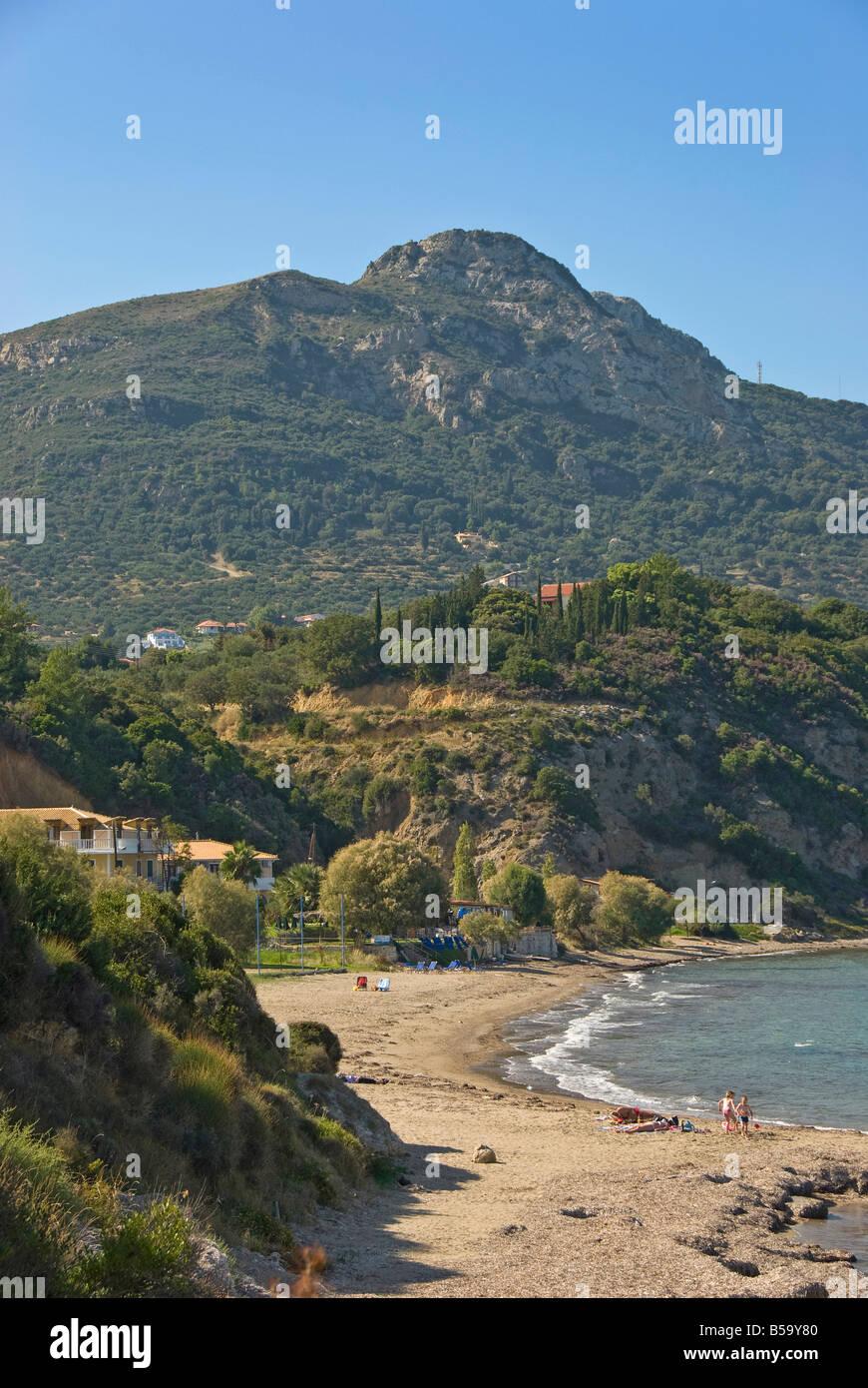 Porto Zoro Beach, Zante, Ionian Islands Greece. - Stock Image