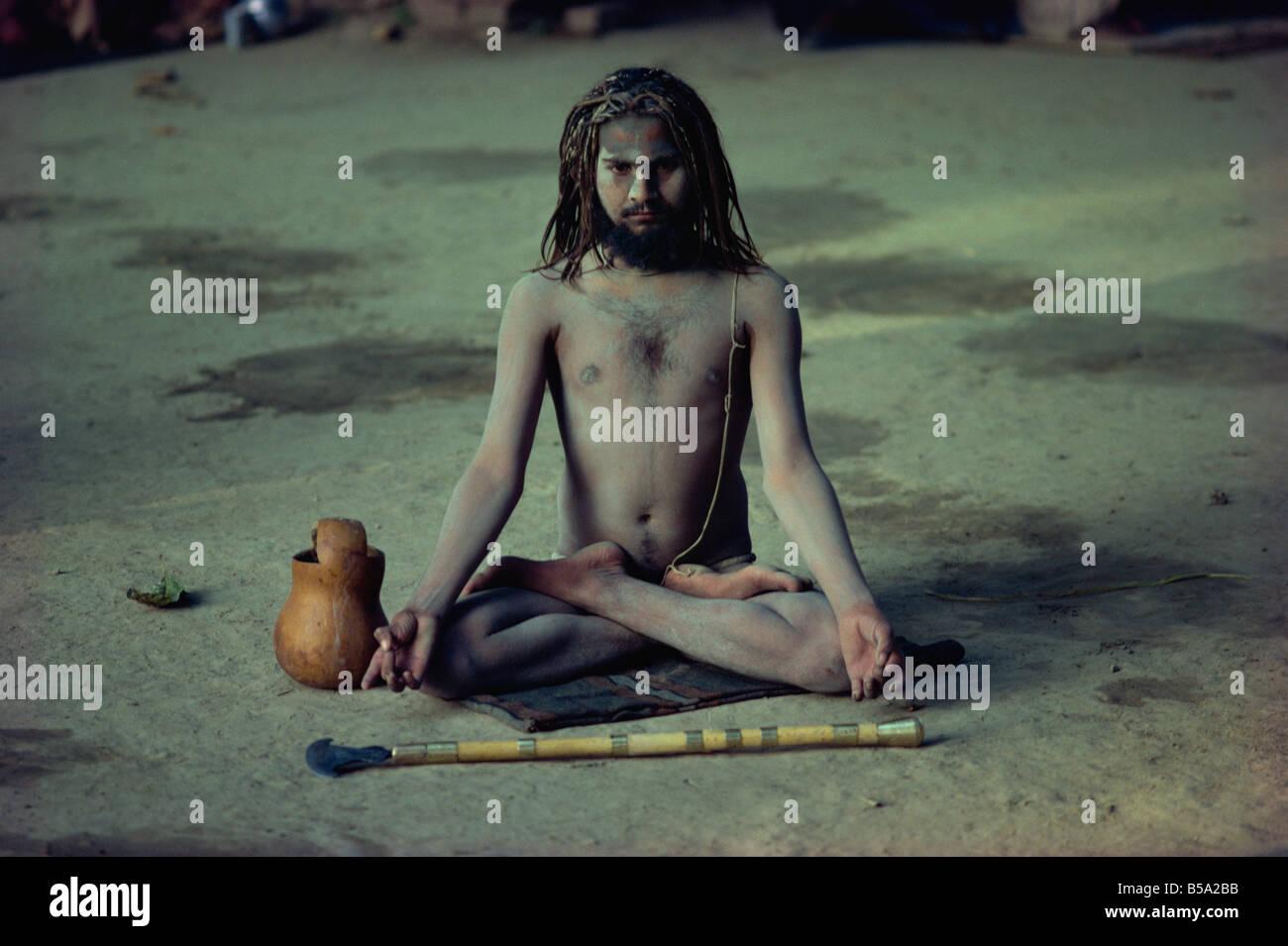 Sadhu Holy man India Asia - Stock Image