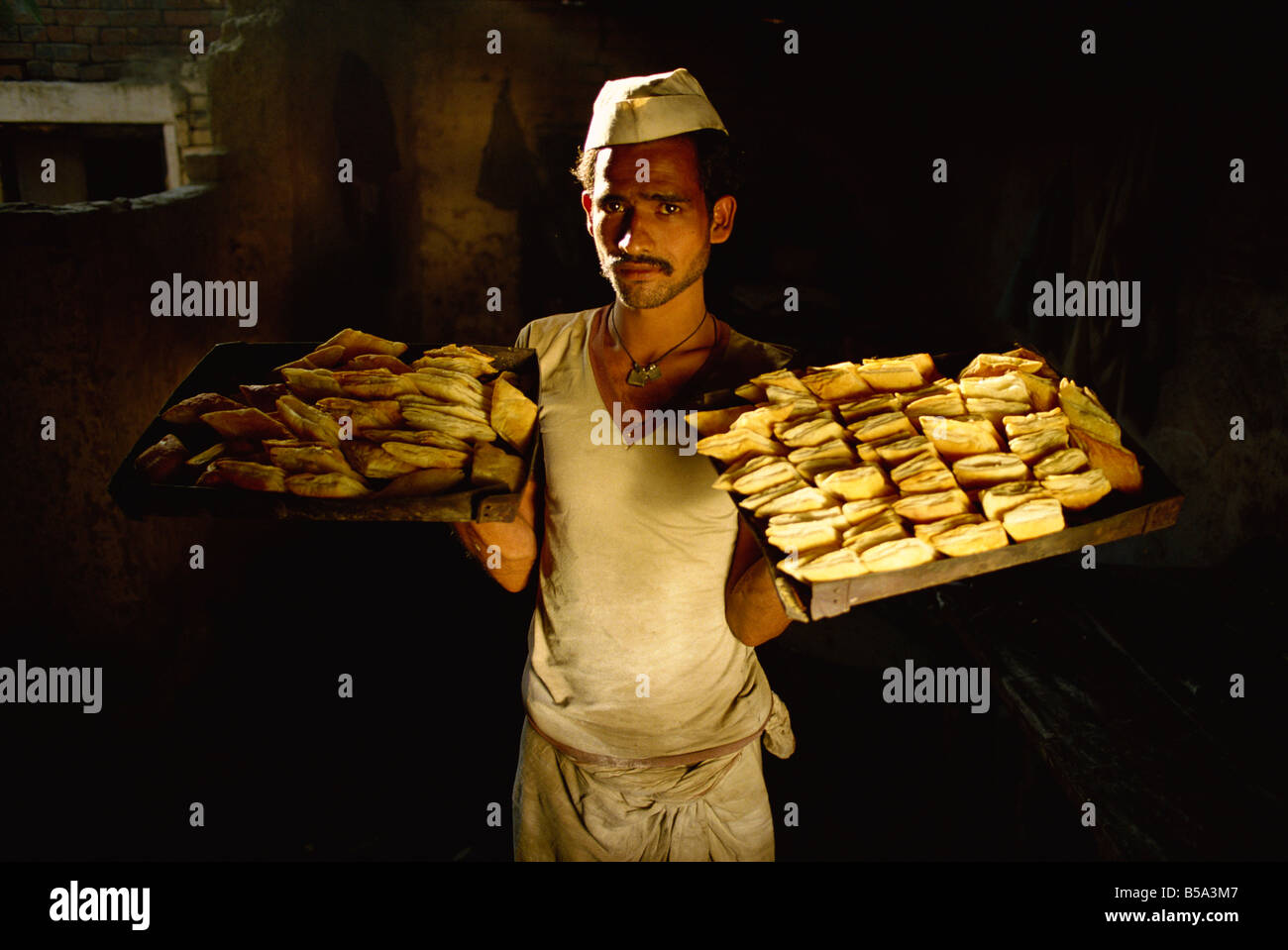 Bakery in North India India Asia - Stock Image