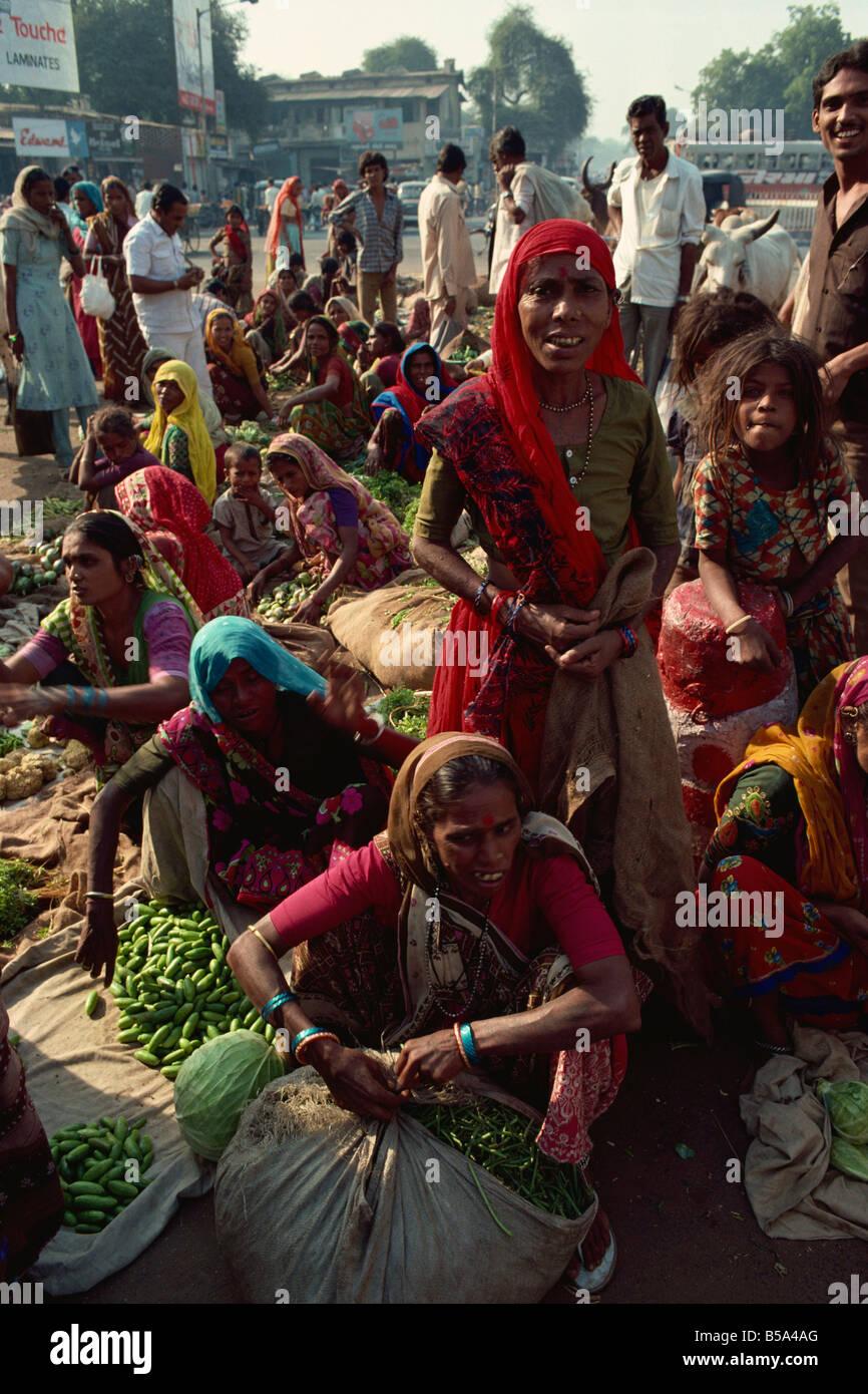 Ahmedabad Gujarat state India Asia Stock Photo