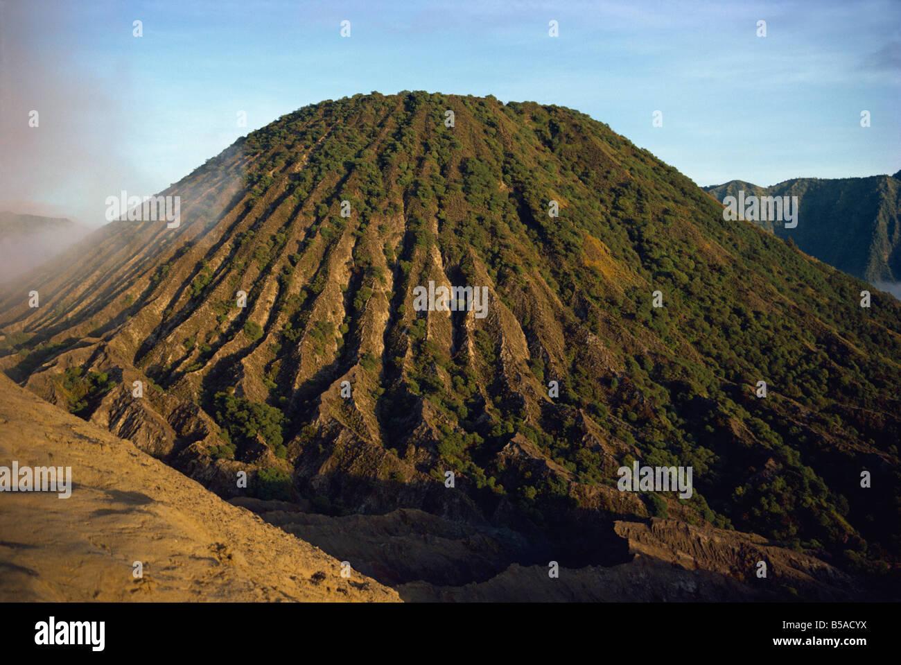 Mount Bromo Java Indonesia Southeast Asia Asia - Stock Image